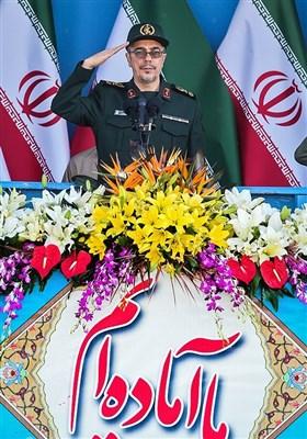 سرلشکر محمد باقری رئیس ستاد کل نیروهای مسلح در مراسم رژه نیروهای مسلح - تهران