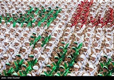 مراسم رژه نیروهای مسلح در تهران (2)