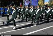 مراسم رژه نیروهای مسلح در شهرکرد