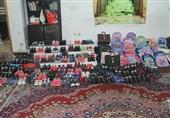 توزیع بستههای لوازم التحریر بین کودکان در جنوب تهران