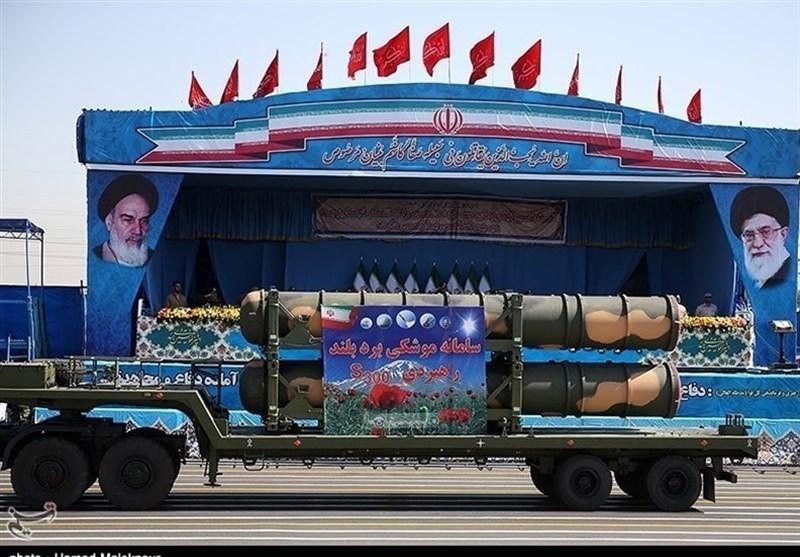 ایرانی اور روسی ایس 300 میزائلوں کی بیک وقت نمائش