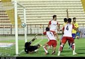 لیگ برتر فوتبال|تساوی پدیده و صنعت نفت در نیمه اول