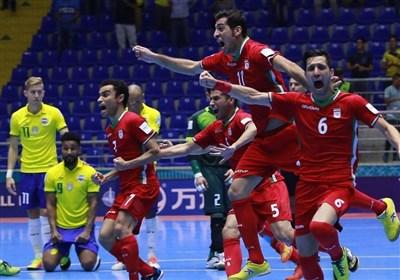 برد تاریخی ایران مقابل برزیل در جام جهانی فوتسال