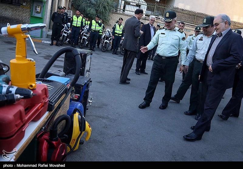 تصاویر دستگیری باند سارقان منزل در قم