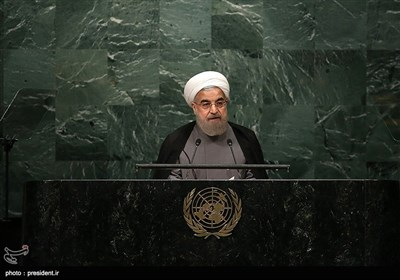 President Rouhani Addresses 71st Session of UN General Assembly