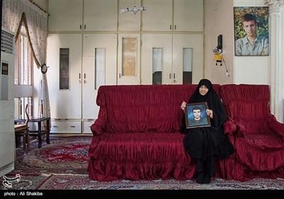 مادر شهید محمد رضا حقیقی