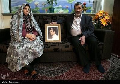 مادر و پدر شهید عبدالرضا هادی