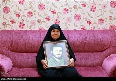 مادر شهید حسن حسن زاده