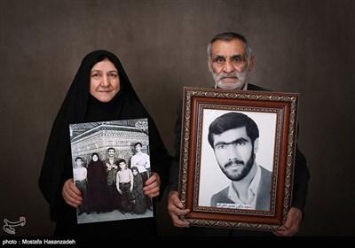 مادر و پدر شهید حسن اعتراف