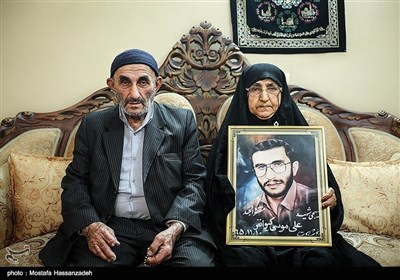 مادر و پدر شهید علی موسی کیوانفر