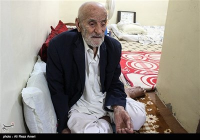 پدر شهید محمود کاظمیان