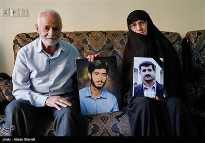 پدر و مادر شهید سعید رحمانی