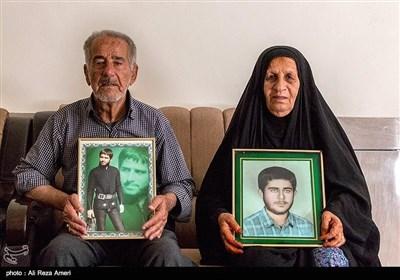 پدر و مادر شهید محمود الهیاری