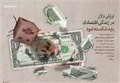 پوستر/ ارزش دلار باید شکسته شود...