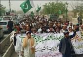 چمن؛ بھارت کے خلاف اور پاکستان کے حق میں پختون قبائل کی احتجاجی ریلی