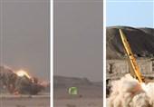 لحظه شلیک و اصابت دقیق موشک ذوالفقار در یک نما - تست موشک در سال گذشته