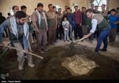 اردوی جهادی در منطقه فرامان کرمانشاه با حضور کیانوش رستمی