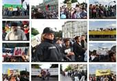 تظاهرات پناهجویان افغان در آلمان