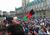 تظاهرات پناهجویان افغان در آلمان15