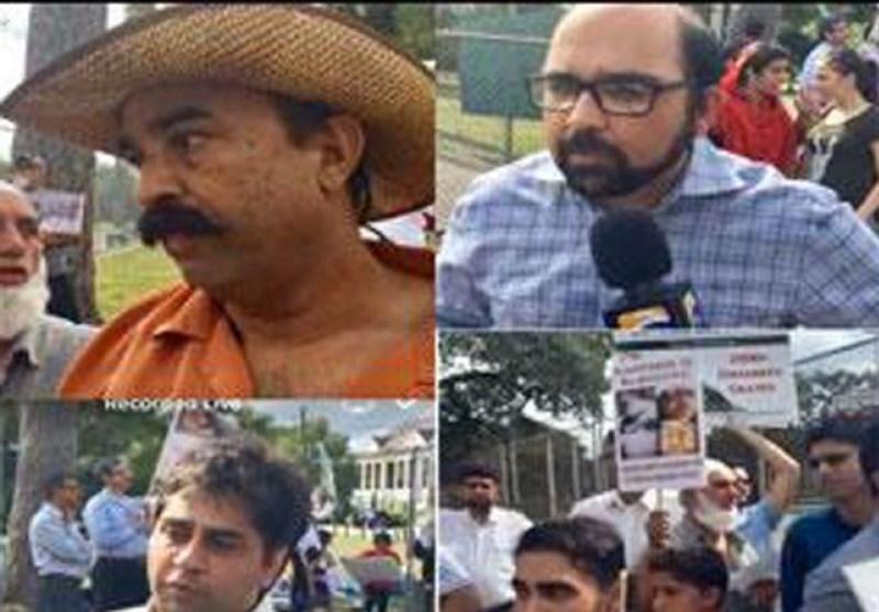 جرمنی کے بعد امریکہ میں بھی مقبوضہ کشمیر میں جاری بھارتی بربریت پر احتجاج