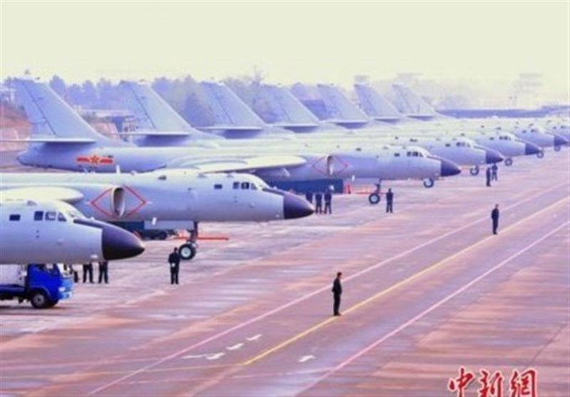 China Air Force Holds Drills in Western Pacific
