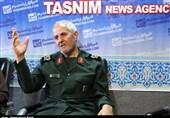 سردار ظفری در دفتر تسنیم همدان