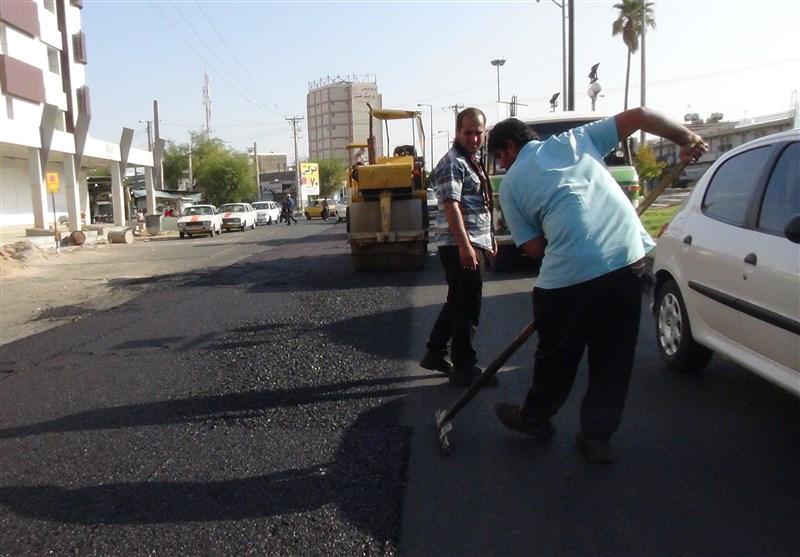 70 هزار مترمربع از معابر حاشیه شهر بجنورد بهسازی شد