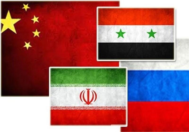 روسیه ایران چین سوریه