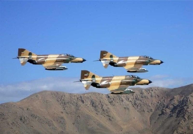 Iranian Phantoms Drop Homegrown Smart Bombs in War Game