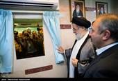 افتتاح بخش ICU بیمارستان ساسان