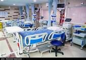 افزایش تعداد تختهای بستری بیماران مبتلا به کرونا در بیمارستان ساسان