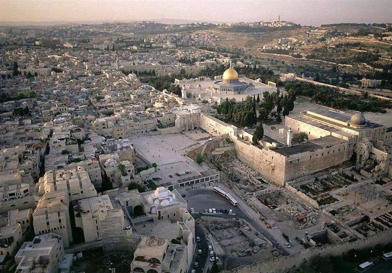 حفاری های دیوار غربی مسجد الاقصی 0