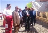 یادواره شهدای امدادگر دفاع مقدس در شهرستان خوسف برگزار شد