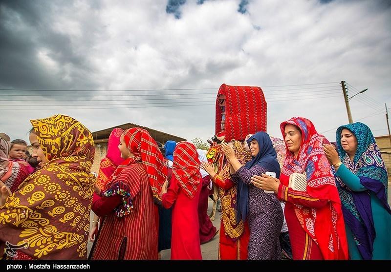 عروسی در بندرترکمن