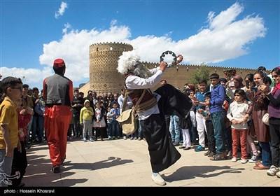 مراسم نوروز خوانی در ارگ کریمخان شیراز