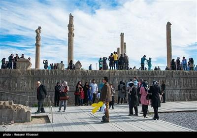تخت جمشید در استان فارس