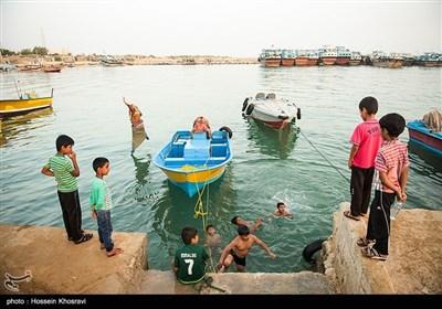 بندر سیراف در استان بوشهر