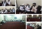 حضور پسر حکمتیار در خانه رئیس پارلمان افغانستان/ رایزنیهای حزب اسلامی ادامه دارد + عکس