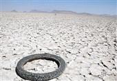 خشک شدن دریاچه بختگان