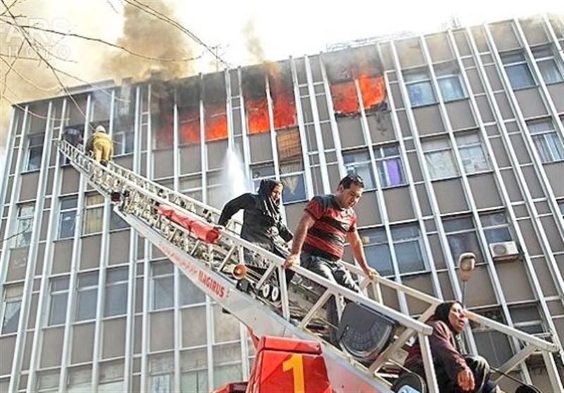 خطر در کمین مسکن مهر قزوین؛ شهرک بلندمرتبه ای که نردبان آتش نشانی ندارد