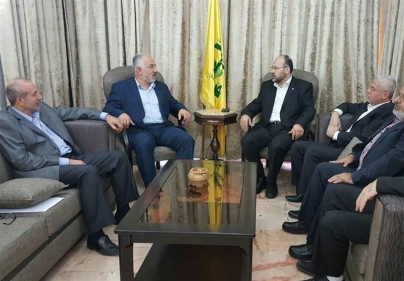 دیدار هیات حماس با حزب الله