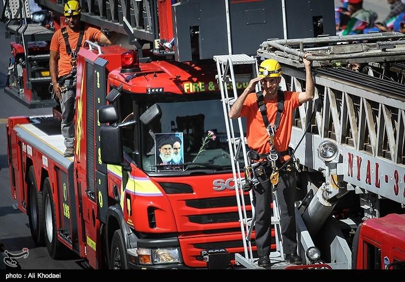 7 دستگاه خودرو مجهز به ناوگان آتشنشانی منطقه ویژه پارس افزوده شد