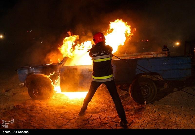 بازی کودک 5 ساله خانهای را به آتش کشاند + تصاویر