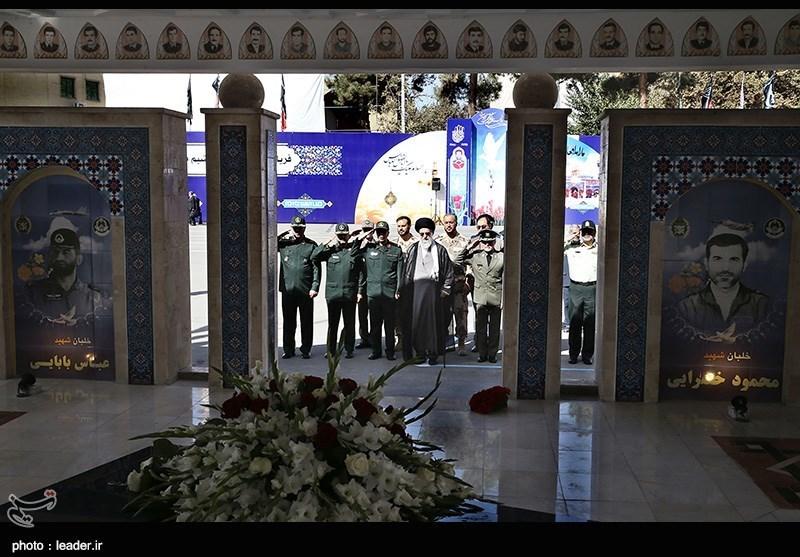 مراسم دانشآموختگی دانشجویان دانشگاههای افسری ارتش