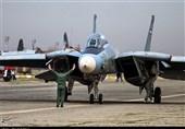تکرار/اورهال یک فروند جنگنده F-14 در پایگاه هوایی اصفهان