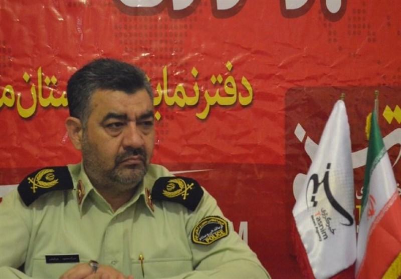 سردار میرفیضی در دفتر تسنیم مازندران