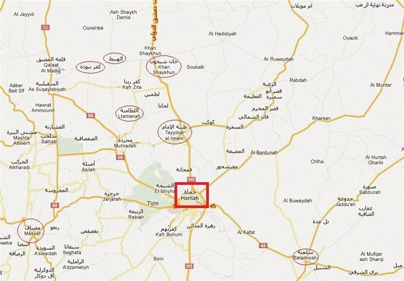 Deadly Suicide Bombings in Syria's Hama City: State TV
