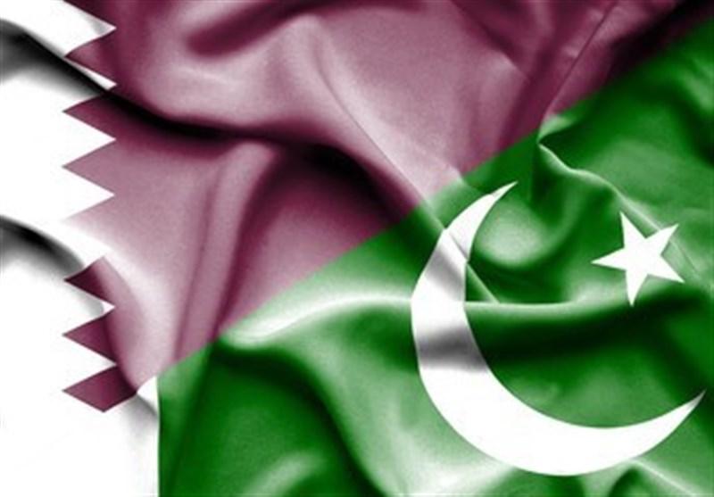 پاک قطر پرچم