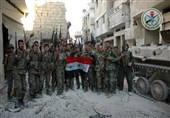 الجیش فی حلب