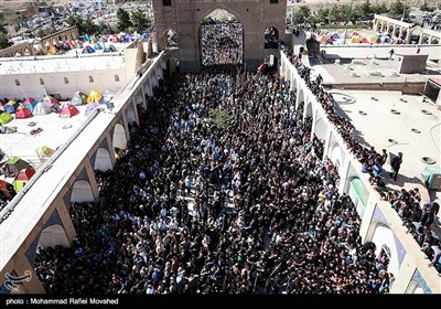 Carpet Washing Ceremony in Iran's Mashhad-e Ardehal